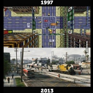 #gta-then-and-now