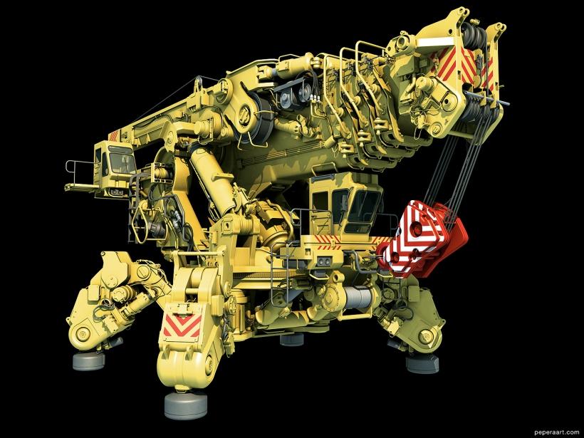 Paul Pepera Mechanical 3D