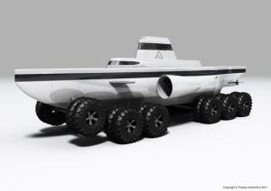 wheeled submarine
