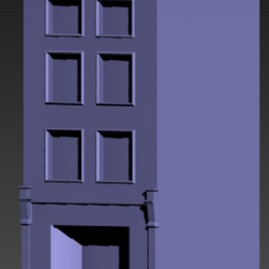 Realistic view of building